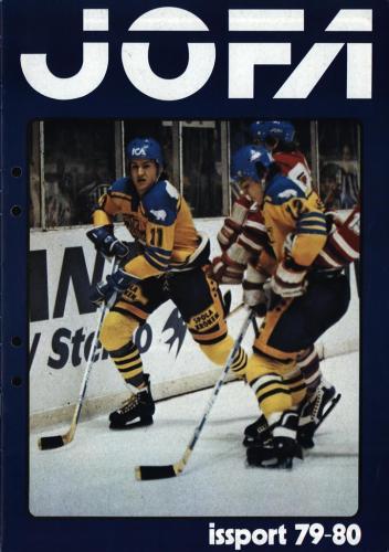 JOFA Volvo Hockey Jofa issport 79-80 0150