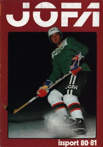 JOFA Volvo Hockey Jofa Issport 80-81 0159