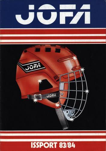 JOFA Volvo Hockey Jofa Issport 83-84 0173