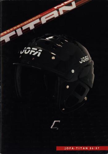 JOFA Volvo Hockey Jofa Titan 86-87 0191