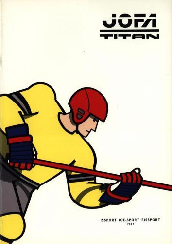 JOFA Volvo Hockey Jofa titan issport 1987 0197
