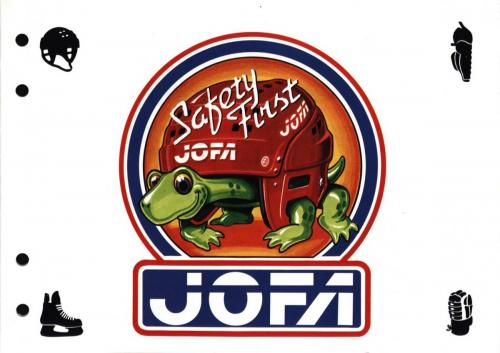 JOFA Volvo Hockey Jofa safety first 0209