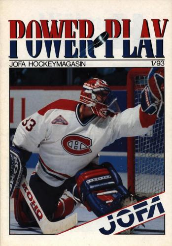 JOFA Volvo Hockey Powerplay Jofa hockeymagasin Nr1 1993 0224