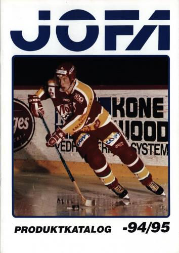 JOFA Volvo Hockey Jofa produktkatalog 94-95 0231