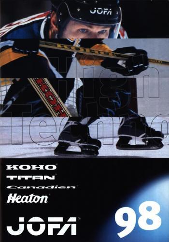 JOFA Volvo Hockey Koho, Titan, Canadien, Heaton, Jofa 1998 0269