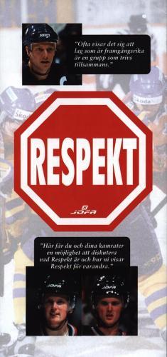 JOFA Volvo Hockey Respekt Jofa 0285