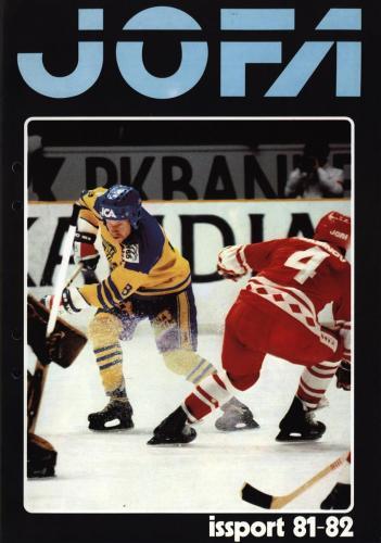 JOFA Volvo Hockey 0703 Hockey 1981-82