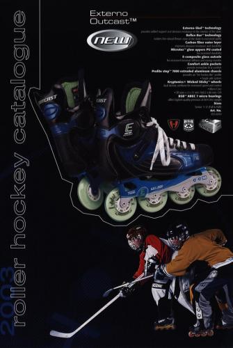 JOFA Volvo Inlines Roller hockey catalogue 2003 0307