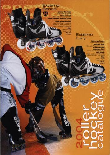 JOFA Volvo Inlines Roller hockey catalogue 2004 0312