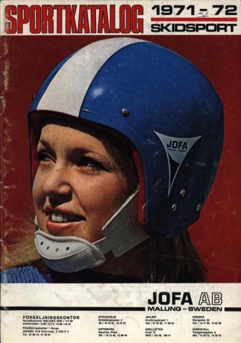 JOFA Volvo Längdåkning jofa sportkatalog 1971-72 Skidsport 0082