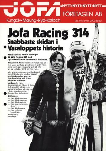 JOFA Volvo Längdåkning Jofa-företagen AB Jofa racing 314 0131