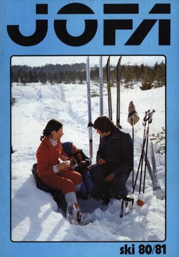 JOFA Volvo Längdåkning Jofa ski 80-81 0161
