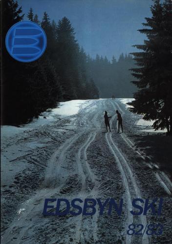 JOFA Volvo Längdåkning Edsbyn ski 1982-83 0168