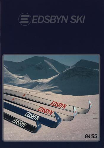 JOFA Volvo Längdåkning Edsbyn ski 84-85 0179