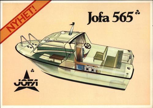 JOFA Volvo Sportbåtar Jofa 565 båtreklam 0029