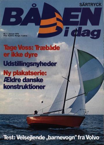 JOFA Volvo Sportbåtar Särtryck Båten idag Nr1 1976 0056