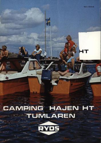 JOFA Volvo Sportbåtar Ryds. Camping, hajen HT, Tumlaren 0058