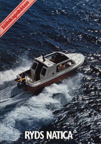 JOFA Volvo Sportbåtar Ryds natica 0134