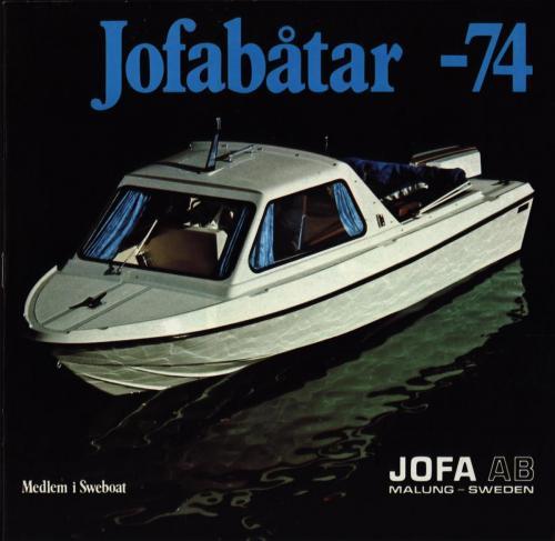 JOFA Volvo Sportbåtar 0698 Båtar 1974