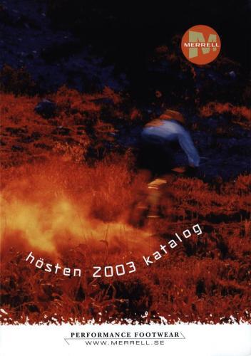 JOFA Volvo Träningskläder & skor Merrell hösten 2003 0310