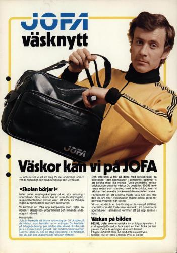 JOFA Volvo Väskor Jofa väsknytt 0124