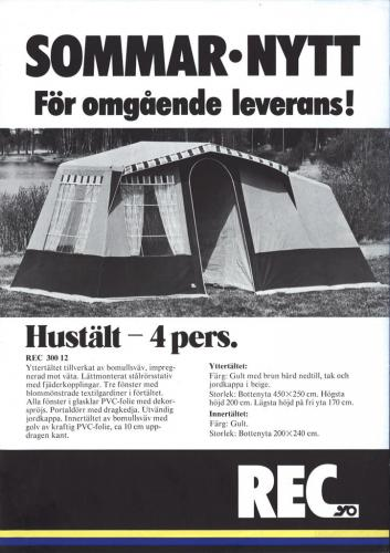Jofama REC Camping 0401