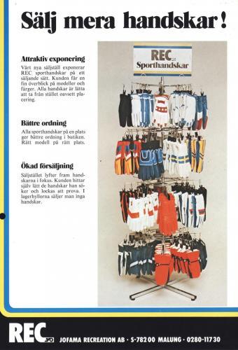 Jofama REC Handskar 0407