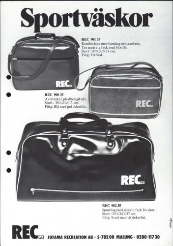 Jofama REC Väskor 0406