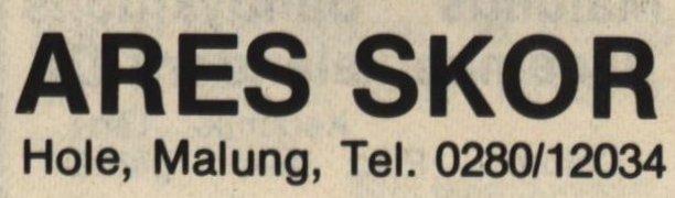Ares skor – Malungsföretag