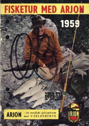 Arjon På fisketur med Arjon 1959