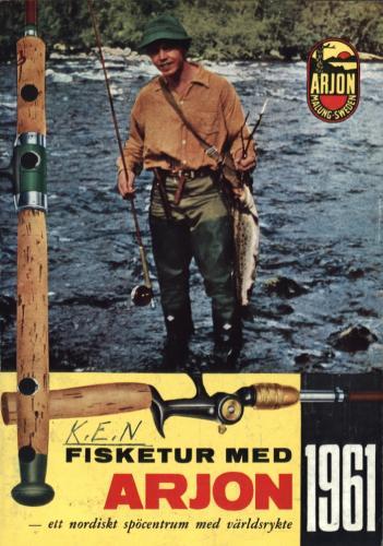 Arjon På fisketur med Arjon 1961