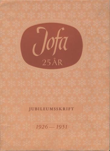 JOFA_Huvudkatalog 1951 JOFA 25 år jubuleumskatalog 0325