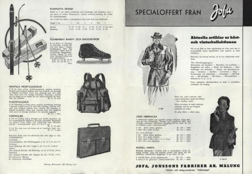 JOFA_Huvudkatalog 1954 specialoffert 0327