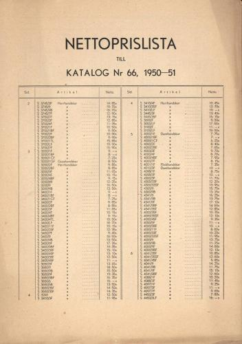 JOFA_Huvudkatalog 1950 prislista 0664