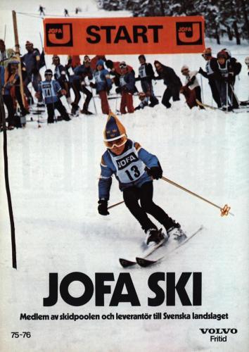 JOFA Volvo Alpint ski 75-76 0112