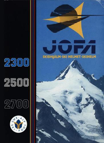 JOFA Volvo Alpint skidhjälmar 0214