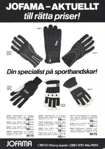Jofama Handskar 0470
