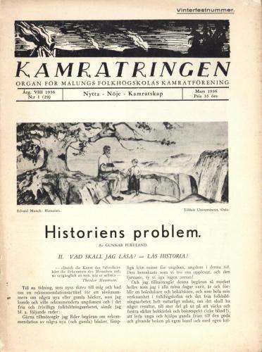 Folkhögskolan Kamratringen 1936-1