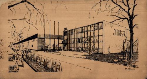 538_1966 JOFA-teckning Falu Ingenjörsbyrå