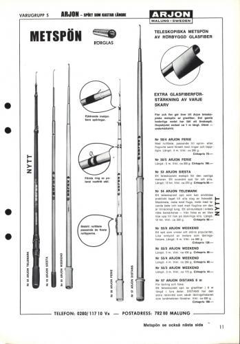Arjon Huvudkatalog 1971 Blad 11