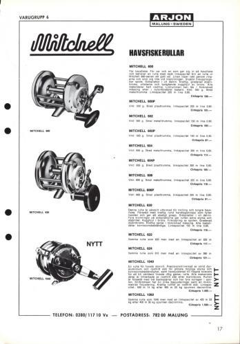 Arjon Huvudkatalog 1971 Blad 17