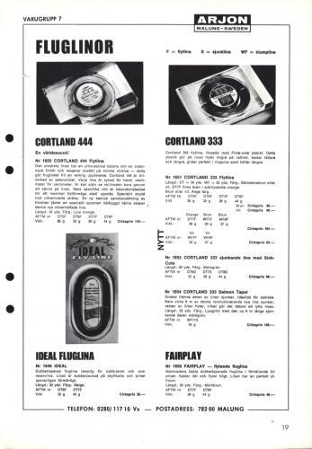 Arjon Huvudkatalog 1971 Blad 19