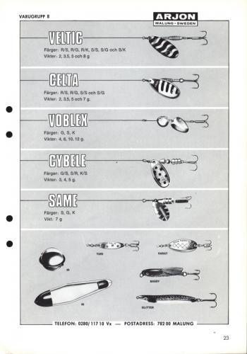 Arjon Huvudkatalog 1971 Blad 23
