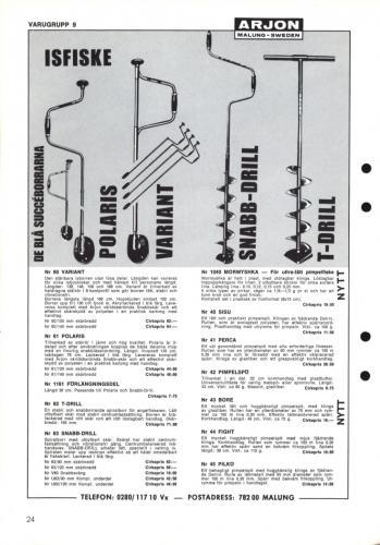 Arjon Huvudkatalog 1971 Blad 24