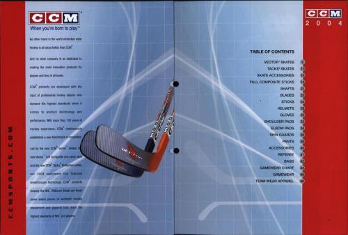 CCM Jofa hockey equipment 2004 Blad02