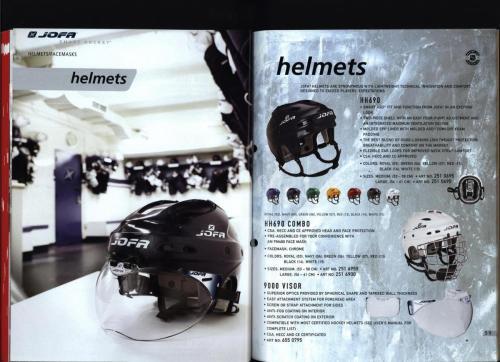 CCM Jofa hockey equipment 2004 Blad30