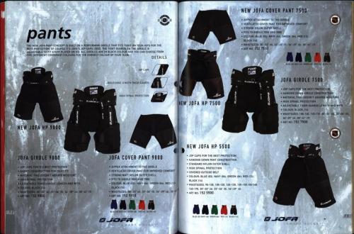CCM Jofa hockey equipment 2004 Blad37