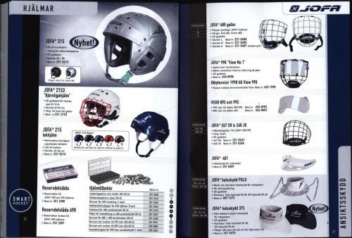 Ccm jofa koho hockeyutrustning 2002 Blad27