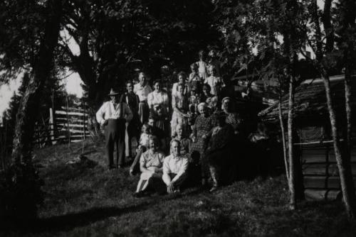 Här Gottfrids 40årfest Älgsjöselen 03