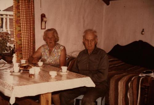 Ingeborg & Gottfrid vid Älgsjöselen